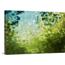 'Beginnings. Modern Mosaic Tile Art Series' by Mark Lawrence Graphic Art on Canvas