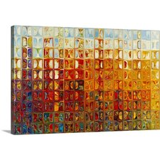 'Modern Mosaic Tile Wall Art' by Mark Lawrence Graphic Art on Canvas