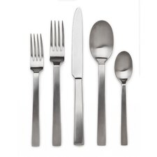 Rapallo Satin 5 Piece Flatware Set