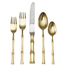 Bamboo D'oro 20 Piece Flatware Set