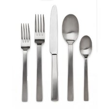 Rapollo Satin 20 Piece Flatware Set