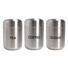 Brushed Steel Tea/Coffee/Sugar Dome Lid