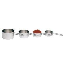 4 Piece Measuring Saucepan Set