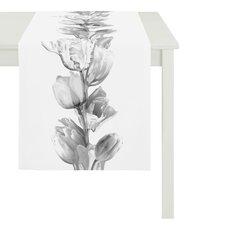 Tulpen Tischläufer aus 100% Baumwolle