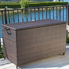 Hampton 150 Gallon Wicker Deck Box