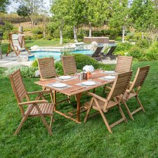 Garland 7 Piece Dining Set