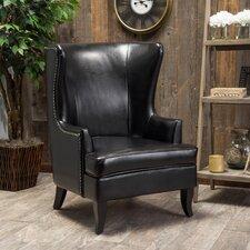 Canterburry High Back Wing Club Chair