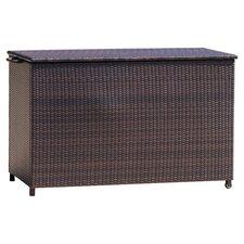 Hampton 150 Gallon Wicker Deck Box