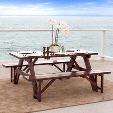 Cinnabar 3 Piece Dining Set
