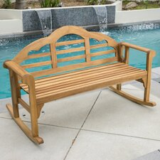Newington Acacia Rocking Bench