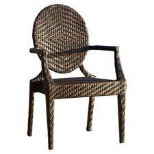 Giesel PE Wicker Outdoor Chair (Set of 2)