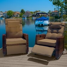 Cartegena PE Wicker Recliner (Set of 2)