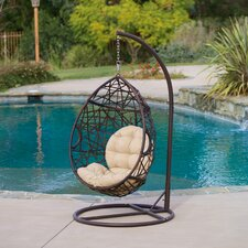 Stamford Tear Drop Swinging Chair with Cushion