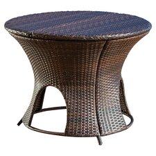 Stephen Wicker Outdoor Round Storage Table