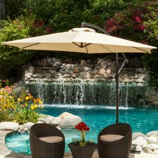 9.8' Paradise Cantilever Outdoor Canopy Umbrella