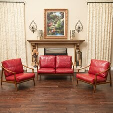 Marybelle 3 Piece Loveseat and Chair Set