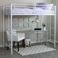 Metal Twin Loft Bed
