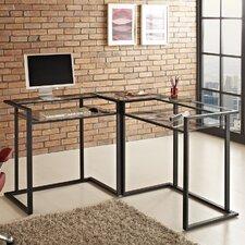 Corner X-Frame Computer Desk