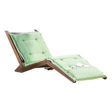 Granville Chaise Lounge with Sage Cushion