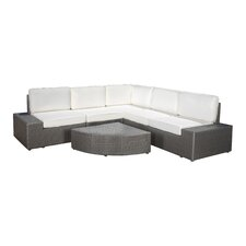 Werder 6 Piece Deep Seating Group with Cushions