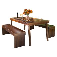 Kennedy 3 Piece Dining Set