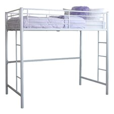 Metal Twin Loft Bed
