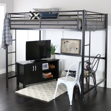 Full Loft Bed Customizable Bedroom Set