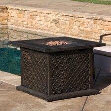 Santana Metal Propane Fire Pit Table