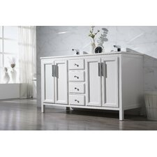 "Emily 59"" Double Sink Bathroom Vanity Set"