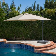 Basel 9' Outdoor Canopy Umbrella with Stand