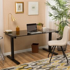 Lawson Computer Desk with Single Motor