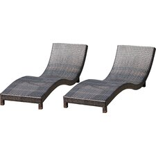Cabrillo Chaise Lounge (Set of 2)