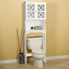 "24.38"" x 67.73"" Free Standing Over the Toilet"