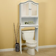 "24"" x 68"" Free Standing Over the Toilet"