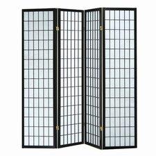 "70"" x 70"" Sonji 4 Panel Room Divider"