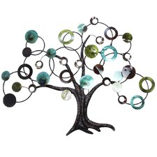 Abstract Tree Wall Décor
