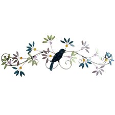 Floral Inspired Bird Wall Décor