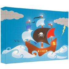 Leinwandbild Pirate Ship, Grafikdruck