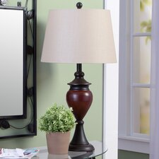 """28.5"""" H Table Lamp with Empire Shade (Set of 2)"""