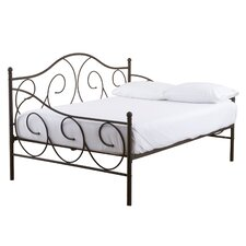 Crestshire Metal Scroll Daybed