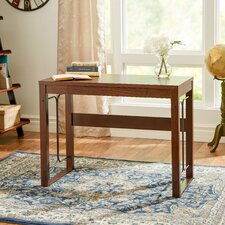 Weymouth Writing Desk With Drawer and Metal Accent