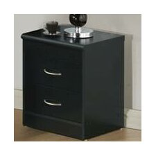 Adams 2 Drawer Nightstand