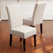 Acropolis T-Stitch Upholstered Side Chair (Set of 2)