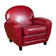 Alden Faux Leather Club Chair