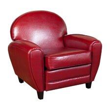 Alden Faux Leather Club Chair