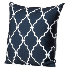 Reuter Trellis Polyester Throw Pillow
