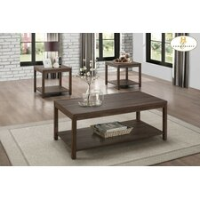 Browne 3 Piece Coffee Table Set