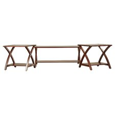 Aberdeen 3 Piece Coffee Table Set