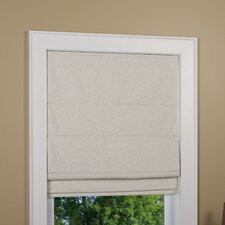 Crestshire Roman Shade with Blackout Fabric
