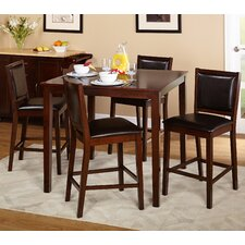 Lee 5 Piece Counter Height Set